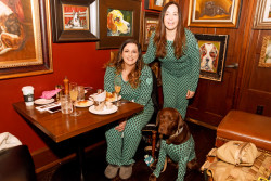 White Dog Cafe's annual New Year's Day Brunch partners with Justin Jean Pajamas to raise funds for Alpha Bravo Canine