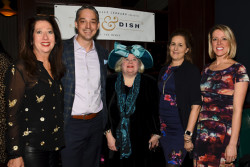 Inaugural 'Dine & Dish takes place at The Bercy in Ardmore