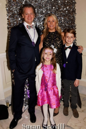 15. Peter and Celeste Manley brought their children Bianca and Gavin to the annual event!