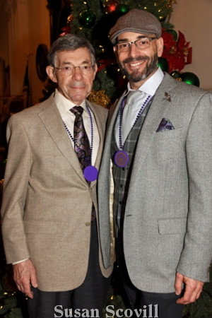 9. Jerry Francesco and his son Gerald Francesco paused for a photo.