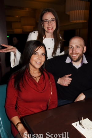 3. Melissa Leonard and guest speaker Andy Greenblatt chatted with Whitney Ullman.