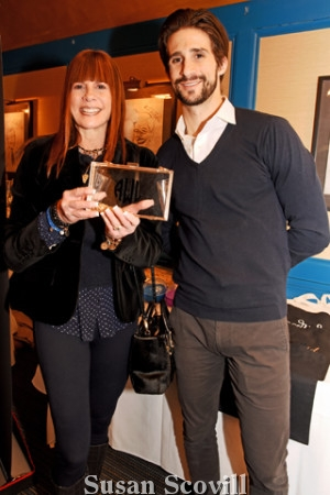 8. Suzie Weiss of First & Marley and Daniel Weiss were pictured at the event.