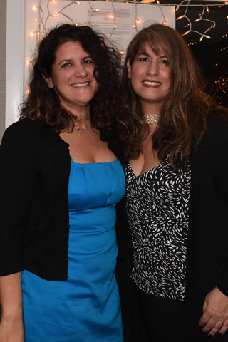 12. Rose Caione and Anita Tognucci registered guests to the gala event.