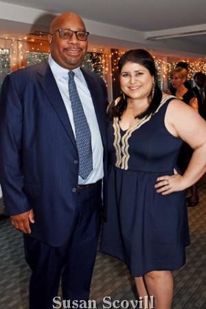 3. Walter and Jennifer Robinson attended the annual gala.