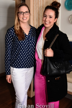 6. Jen Wilkins and Patricia Maristch attended the event.