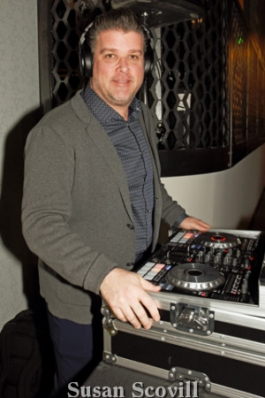 8. Eddie Tully was the live DJ!