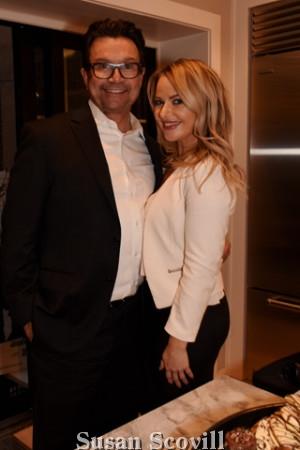 18. John Bolaris and Jennifer Ashley.