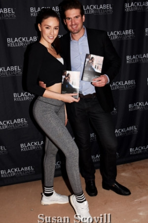 19. Yoga expert Charissa Fionelli and Billy Walsh shared a moment at the step and repeat!