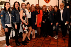 Fashion designer Nicole Miller and store owner Mary Dougherty host a private, invitation-only charitable shoppping event at Nicole Miller Philadelphia's Manayunk store