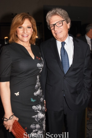 8. Stephanie Stahl of CBS-3 emceed the event. Stephanie was pictured with her husband Jim Trichon.