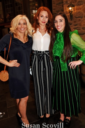 8. Darci Henry, Elena Samane and Marisa Garcia.