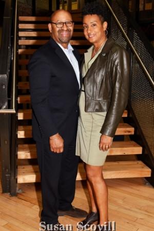 7. Former Philadelphia Mayor Michael Nutter and his wife Lisa.