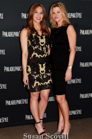 8. Philadelphia Style Magazine Editor-in-Chief Kristin Detterline and Donna Coghlan.