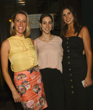 5. Laura Weathers, Elizabeth Shaffer and Brooke Rightnour were pictured at the event.