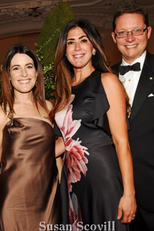 16. Kristen DeMarco, Lauren Jendrasiak and Ted Dougherty attended the event.