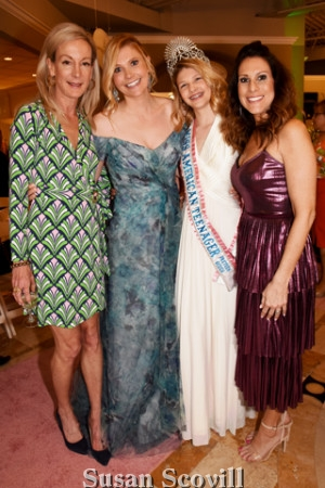 7. Peggy Conlon, Ashley Meyers, Miss America Teenager, Eva McKnight, and Mandy Scanlon.