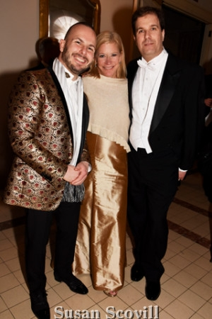 """2. Philadelphia Orchestra Maestro Yannick Nezét-Séguin, Caroline B. """"Cackie"""" Rogers, chairman of the Board of Trustees and Philadelphia Orchestra Association CEO Matías Tarnopolsky were pictured after the concert."""