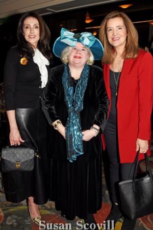 3. Kathy Stevens, Michelle Leonard and Carolyn O'Halloran.