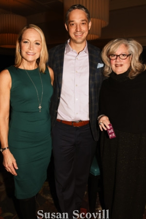 7. Mary Pat Kessler, Bercy owner Justin Weathers and Marilyn Russell.