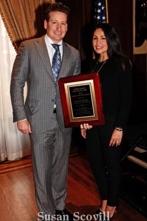 6. Ken Wellar and his wife Adriana.