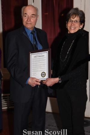 9. George Manos and Nancy Goldenberg
