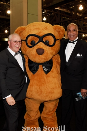 3. Mike Rogers and Ed Neal loved the bear!