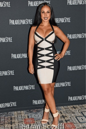 22. Nina Radcliff M.D. wore Herve Leger to the event.