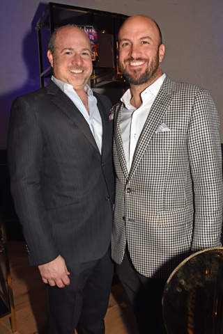 Justin Wineburgh, CEO of AlchemyX,chatted with Tom Petrelli of Petrelli Previtera Schimmel, LLC at the Datebook event.