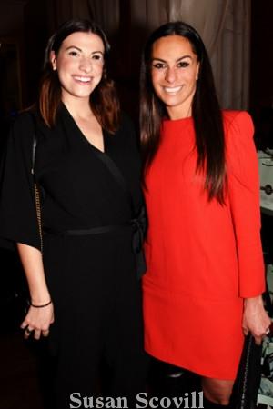 4. Kristen Melchiorre and Nina Stanley.