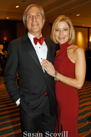 2. Gerry Sweeney, pictured with his wife Jackie, received the Heart of Philadelphia Award.