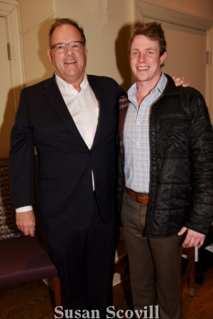 11. Bill Conlin , president of Conlin's and his son also named Bill paused for a photo. Conlin's is a Restaurant Week sponsor.