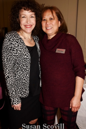 12. Melissa Jacobs and Stacie Wong of Main Line Today attended the kickoff event.