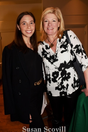 13. Philadelphia Magazine's Meghan Cima and Talia Pines attended the event.