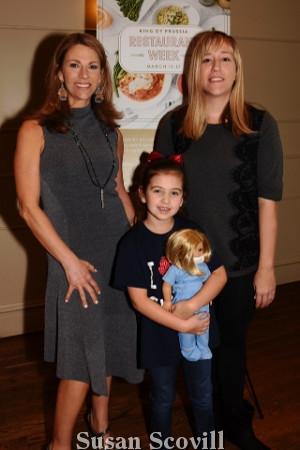 2. Karen Hepp welcomed Emily Garrett and her mother Eleanor, CHOP's Ambassador Family.