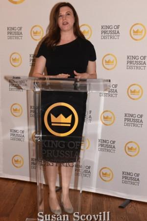 8. Xfinity Public Relations Vice President Jennifer Bilotta spoke about their Restaurant Week sponsorship and an Xfinity event set for March 13.