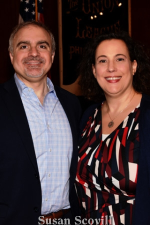 11. Anthony Mannino and Laura Spina.