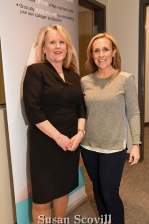 15. Debbie Lander and her daughter Katie Jones.