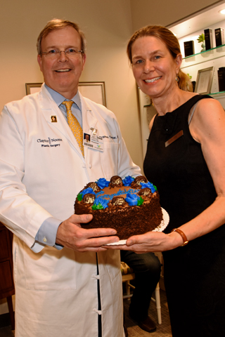 2. Claytor Noone Dr. Brannon Claytor, board certified plastic surgeon and his wife Sarah Claytor who serves as Claytor Noone Plastic Surgery office manager.