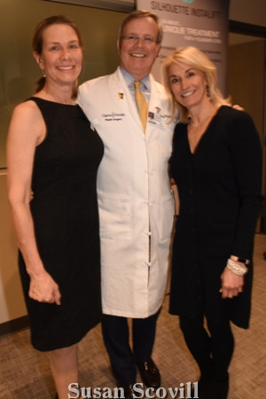 3. Sarah and Dr. Brannon Claytor chatted Renee Girafalco.