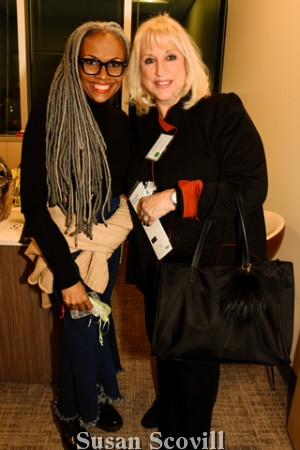4. Deneen Marcel of Deneen Marcel Lashes discussed her services with Cheryl Shapiro.