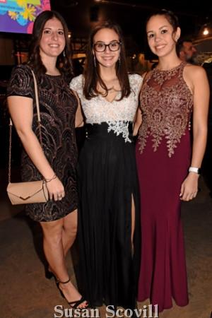 6. Kara Ciaccio and Megan and Katelyn Geiger