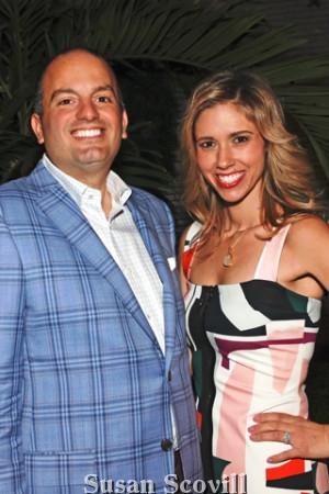 7. Fred DiBona III and his wife Teresa.