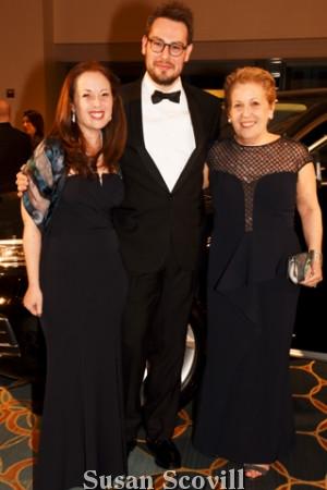 14. Hillary Rubesin, Daniel Fox and Ellen Rubesin.