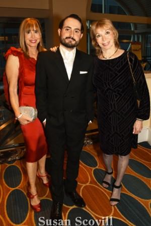 8. Nina Bernstein, Jonathan Voluck and Marcia Epstein.