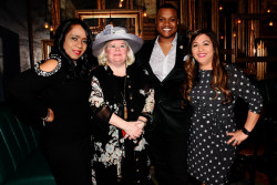 Main Line Realtor Michelle Leonard hosts Dine & Dish with Marcus Allen, CEO of Big Brothers Big Sisters Independence Region at The Bercy in Ardmore