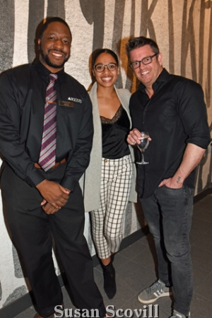 11. Marcus Gay, Nicole Galiber and Rob Scott.