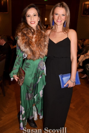 2. Eva Yuen and Argjenta Orang attended the Orpheus 2019 Winter Concert.