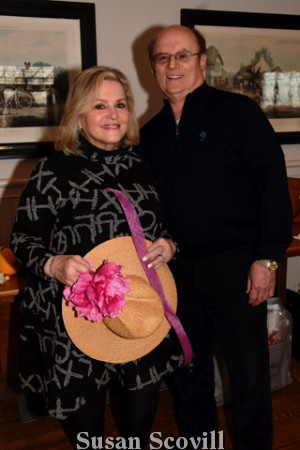 4. Donna Burkhardt and her husband Dr. Barry Burkhardt tried their hand at creating a chapeau!