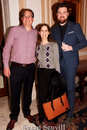 7. Rick Giles, Whitney Van Dean and David Knowles.