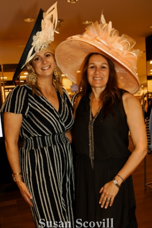9. Laura Chadha and Kathy Moore are the 2019 Ladies Day co-chairs.